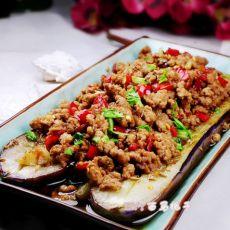 泡椒肉末烤茄子的做法