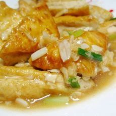 蒜香豆腐的做法
