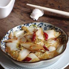 酸辣白菜的做法