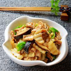 香菇山药炒肉片的做法