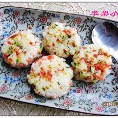 煎米饭饼的做法