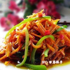 鱼香胡萝卜丝的做法