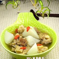 羊肉萝卜枸杞煲的做法