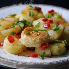 椒盐敲扁迷你土豆的做法