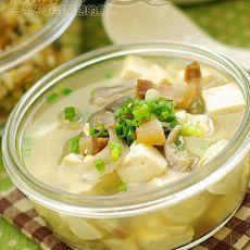 咸肉豆腐汤的做法