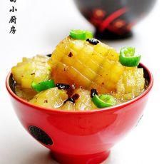 豆豉烧冬瓜的做法