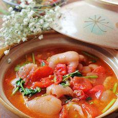 番茄蹄花煲的做法