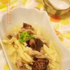 香菇春笋汤的做法