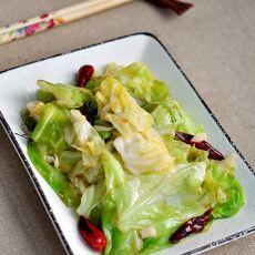 干煸圆白菜的做法