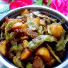 【原创首发】土豆炖豆角的做法