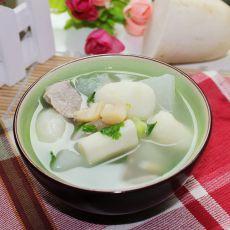 山药萝卜汤