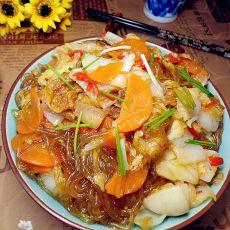 白菜炖粉条的做法