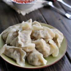 纯棉的空气分享:芹菜饺子