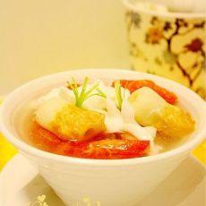 番茄海鲜汤的做法