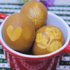 印花茶叶蛋的做法