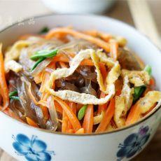 红薯粉丝素合菜的做法
