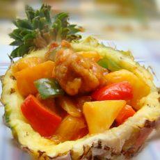 彩椒菠萝咕咾肉
