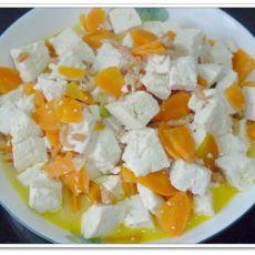 海米炖豆腐的做法