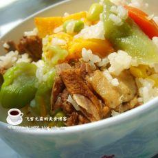 鸭肉南瓜饭(电饭锅)的做法