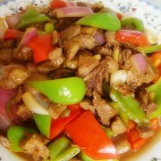 家常菜--肉末什锦小炒的做法