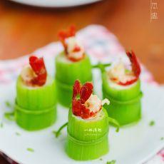 小龙虾丝瓜盅的做法