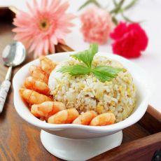 虾仁洋葱炒饭