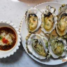 清酒蒸牡蛎