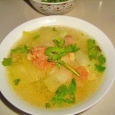 羊肉冬瓜汤的做法