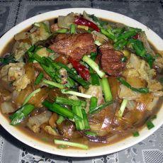 猪肉炖粉条白菜