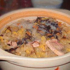 酸菜白肉的做法