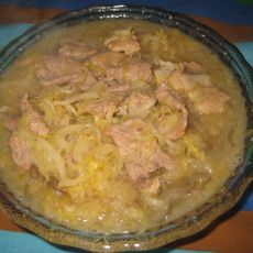 砂锅酸菜的做法