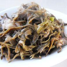 肉烧干豆角丝