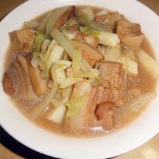 五花肉白菜粉条