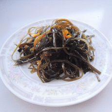 蒜油海带丝的做法