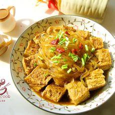 骨汤冻豆腐炖粉条