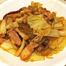 猪肉白菜炖粉条