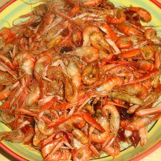 炒嘎巴虾的做法