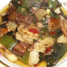 土豆片炒海带