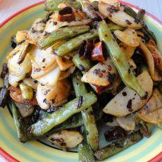 干煸豆角土豆的做法
