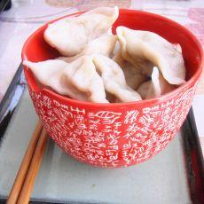 圆白菜杏鲍菇饺子