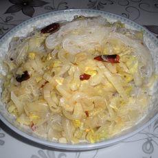 豆汁酸菜炒粉丝