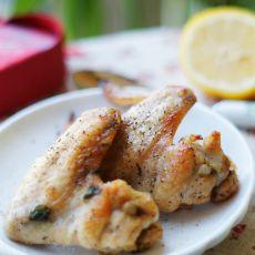 柠檬薄荷烤鸡翅