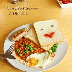 全套英式早餐的做法