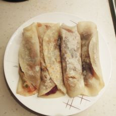 墨西哥肉卷和土豆泥卷