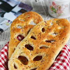 法式叶形薄面包
