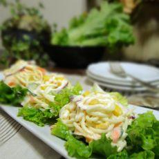 意面生菜沙拉的做法