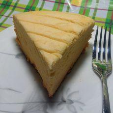 酸梅戚风蛋糕的做法