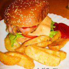 家庭自制 Big Mac