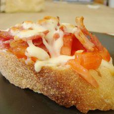 法式面包披萨