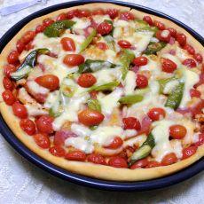 鱿鱼芝士披萨